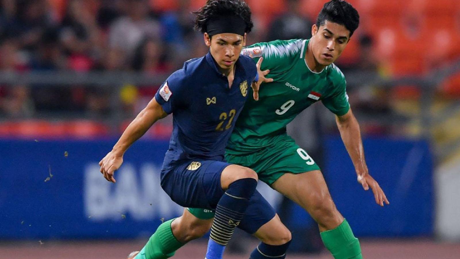 ไฮไลท์ฟุตบอล ไทย 1-1 อิรัก